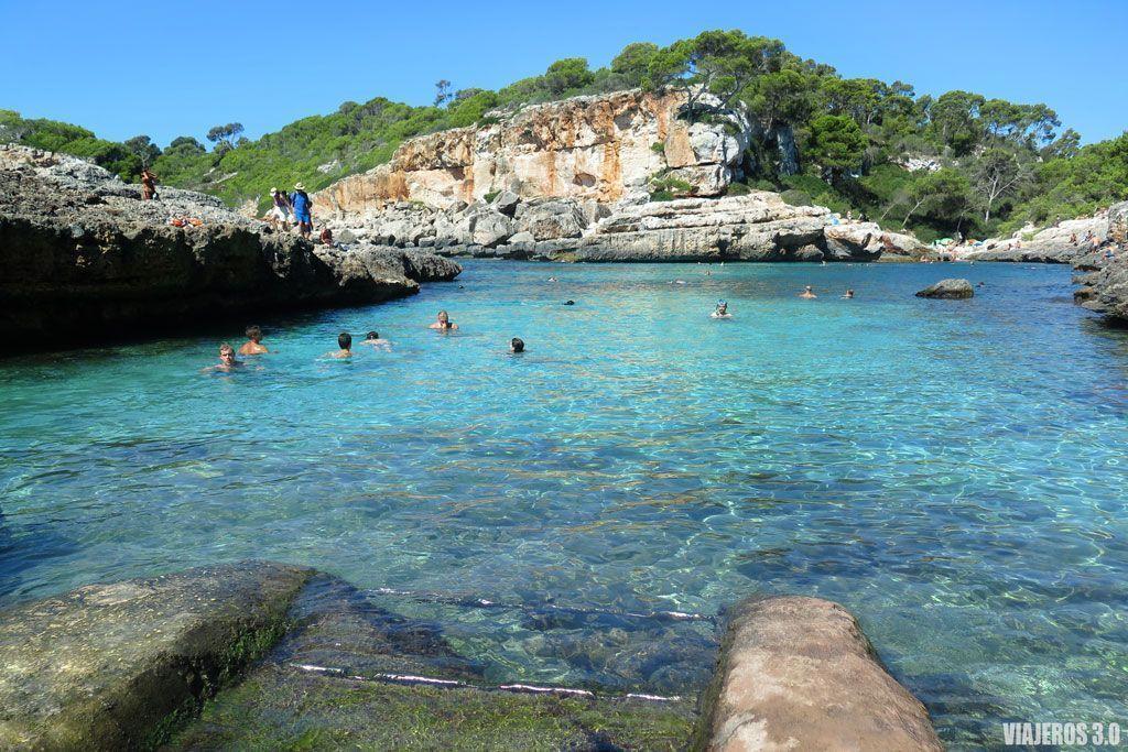 Una de las mejores playas de Mallorca.
