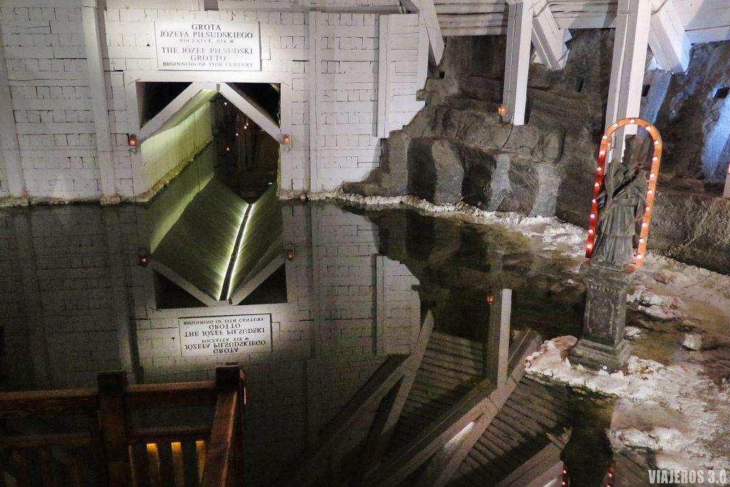 Lagos subterráneos en las Minas de Sal de Wieliczka