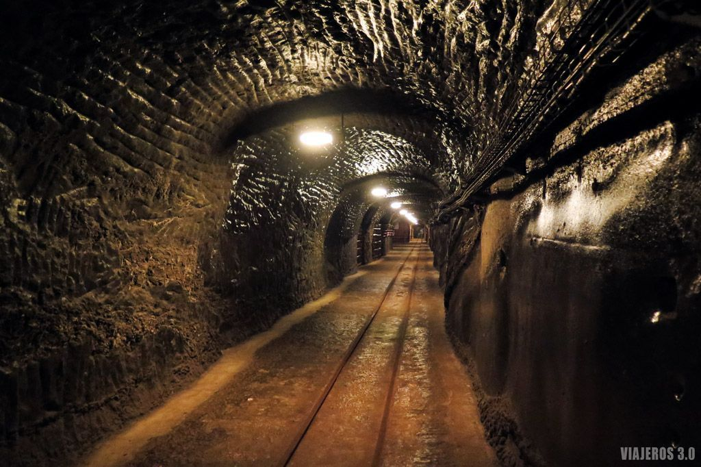 Túneles de Minas de Sal de Wieliczka.