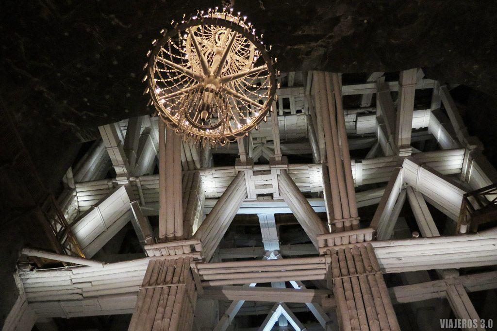Arquitectura Minas de Sal de Wieliczka.