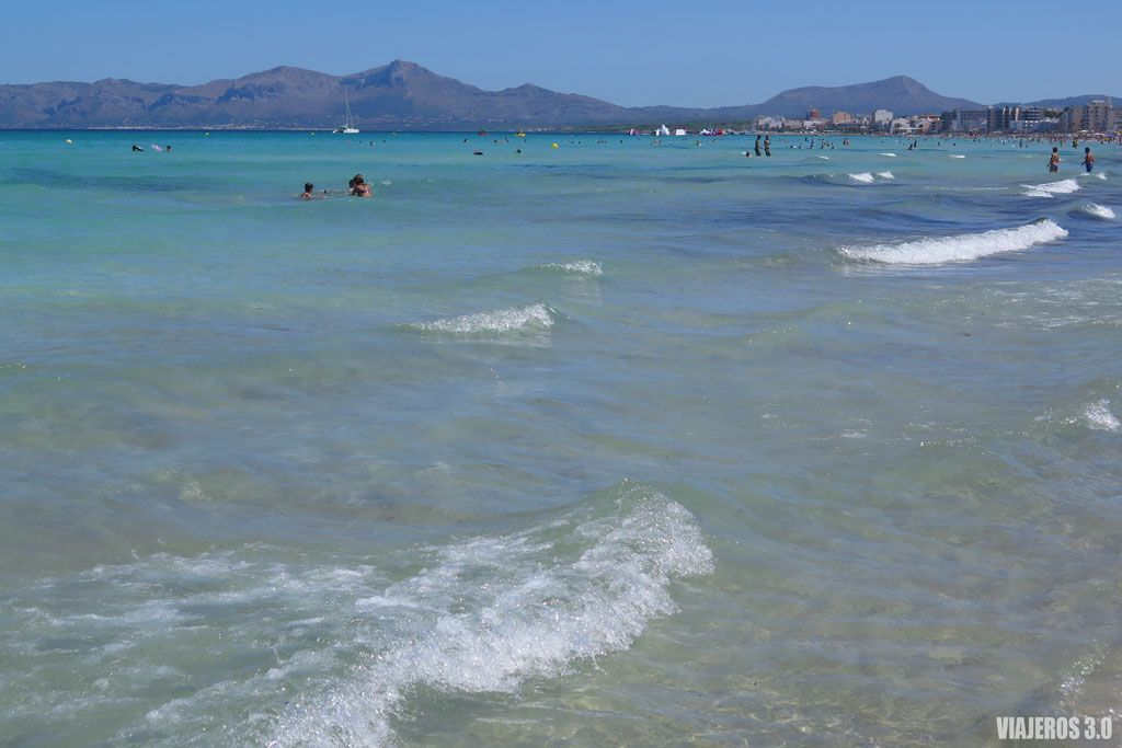 Las mejores calas de Mallorca, playa de Muro