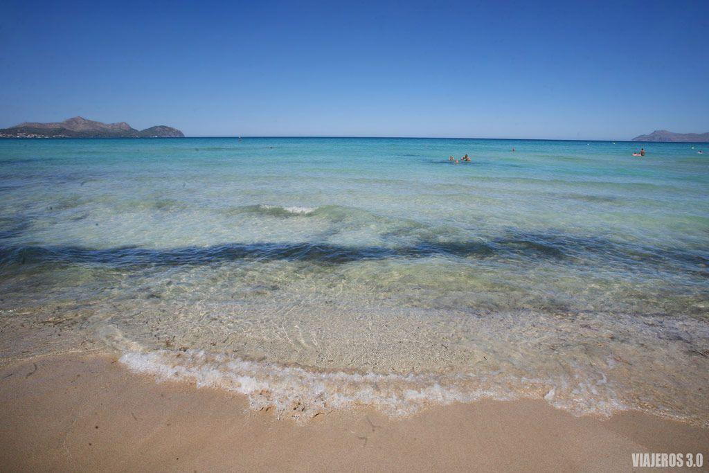 La playa de Muro en Mallorca