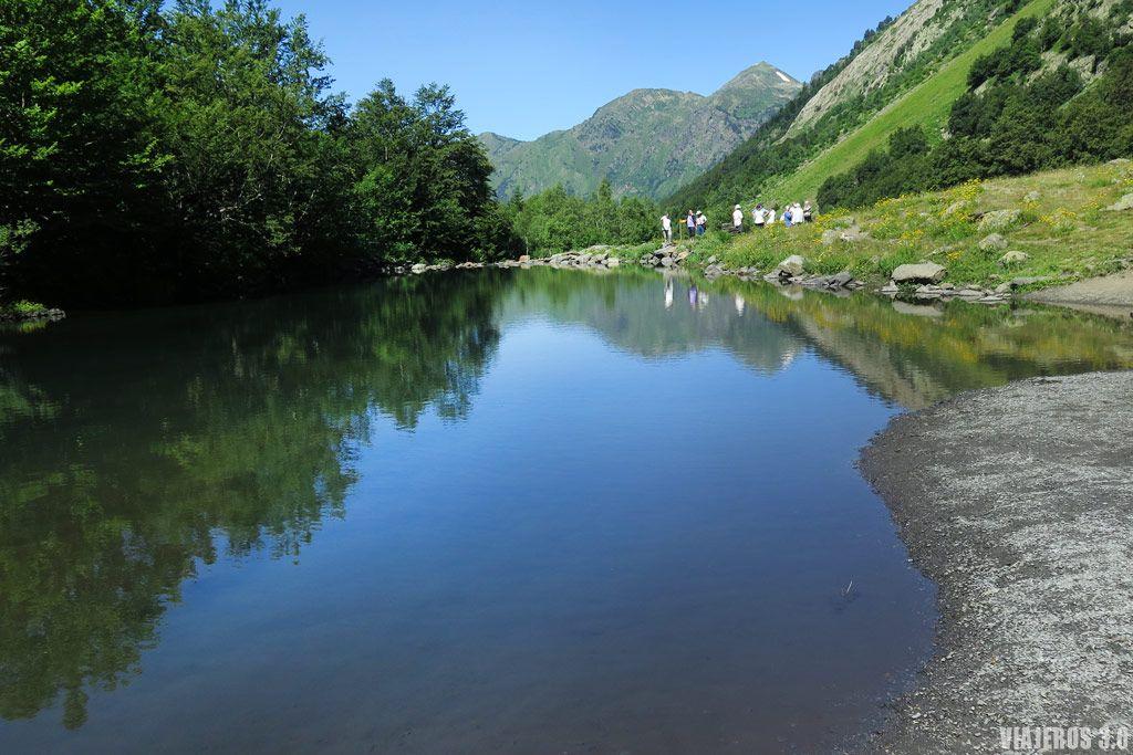 lago de Varradós, ruta de senderismo en el Valle de Arán