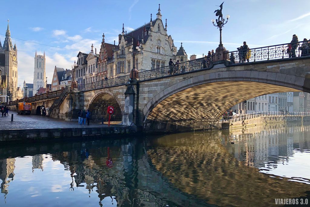 Puente de San Miguel, qué visitar en Gante