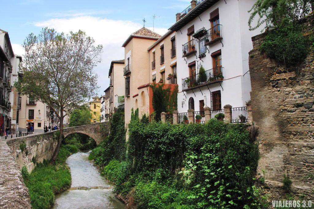 Carrera del Darro, que ver y que hacer en Granada
