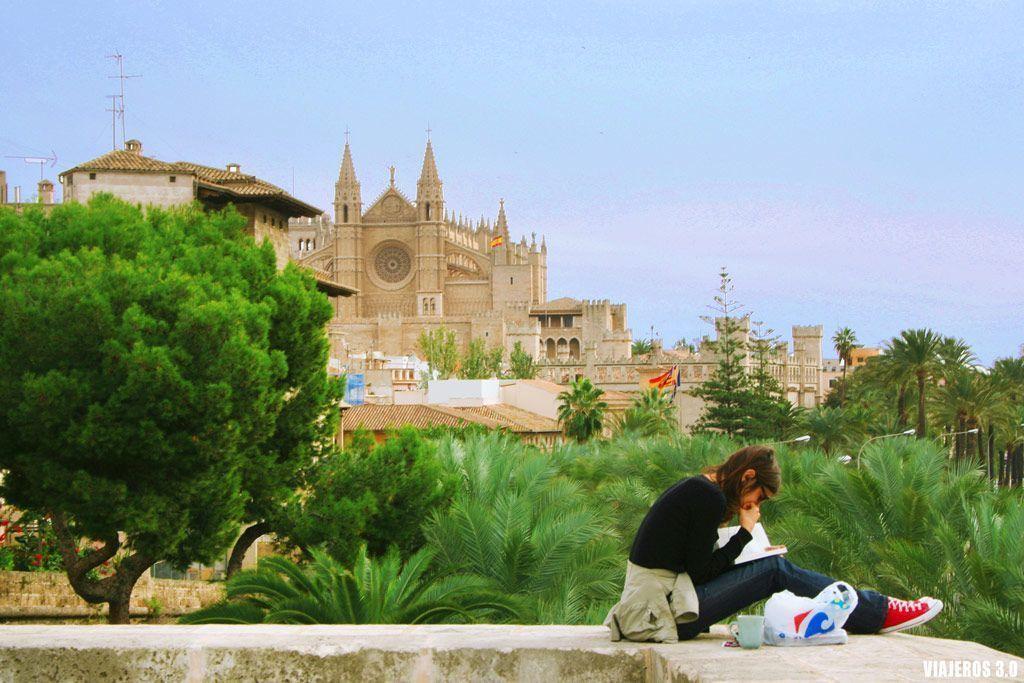 Vistas panorámicas de Palma de Malllorca