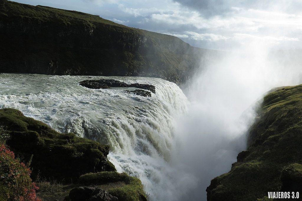 Ruta del Círculo Dorado en Islandia, Gulfoss