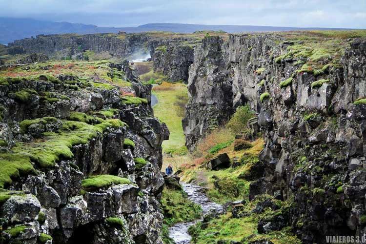 Ruta del Círculo Dorado en Islandia, Thingvellir