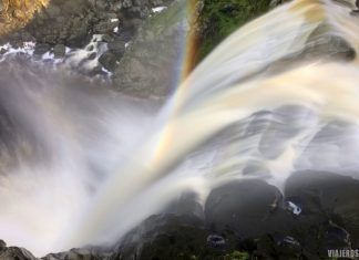 cascada Pozo de los Humos, las mejores cascadas en España