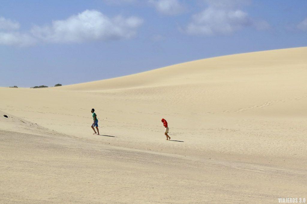 Ruta por Fuerteventura en 4 días, dunas de Corralejo