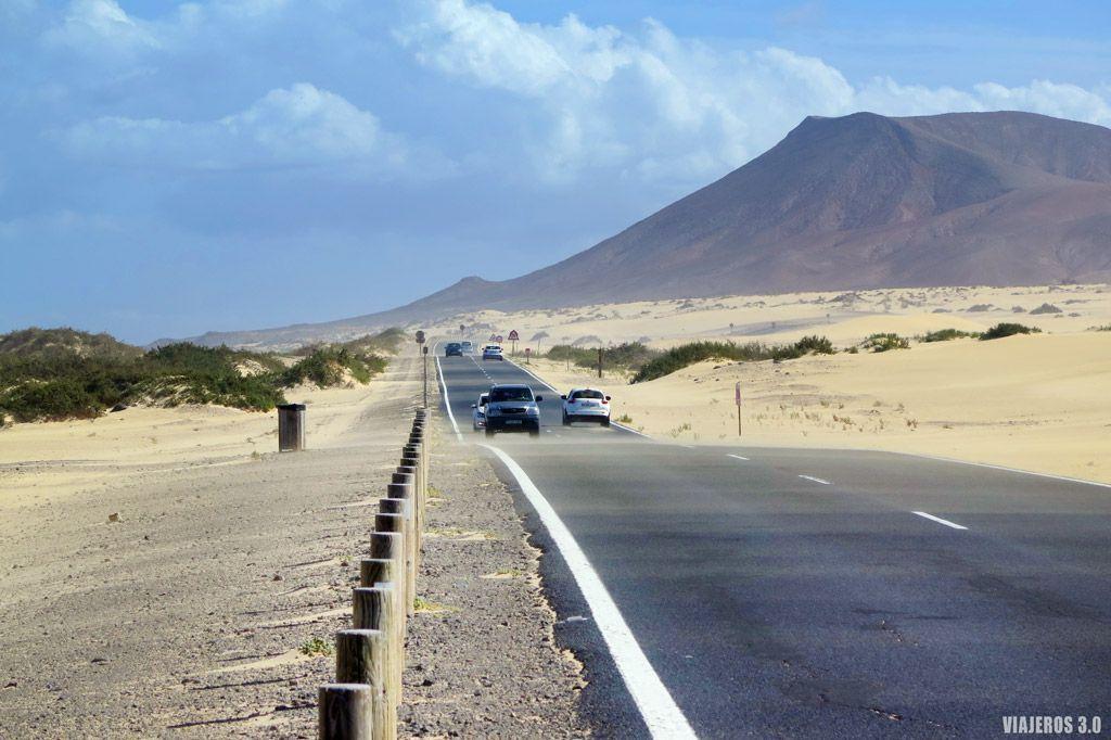 Ruta por Fuerteventura en 4 días, carreteras.