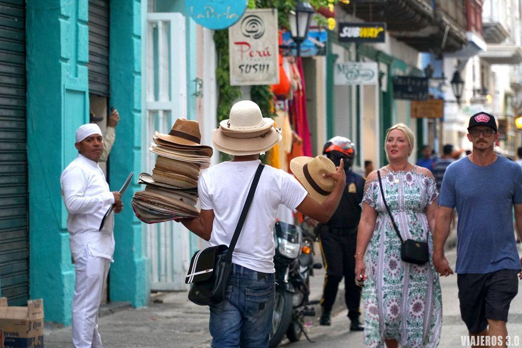 Vendedores ambulantes, ¿Es seguro viajar a Colombia?