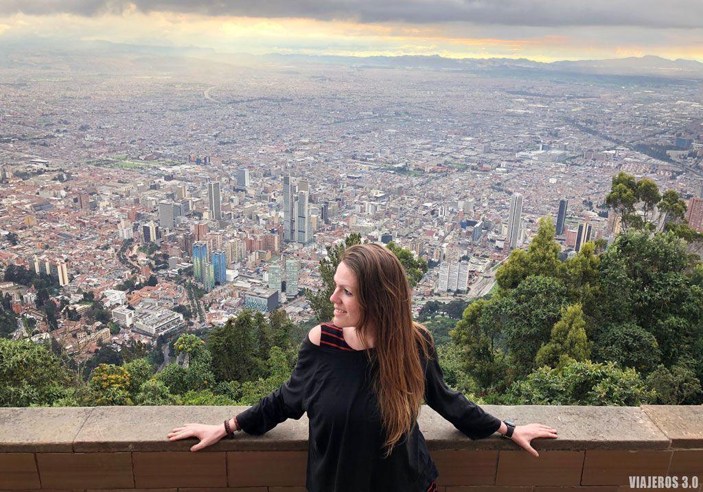 ¿Es seguro viajar a Colombia? Mirador de Monserrate en Bogotá