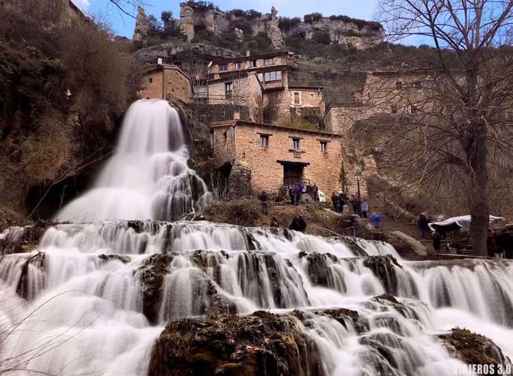 Cascadas en España: Orbaneja del Castillo