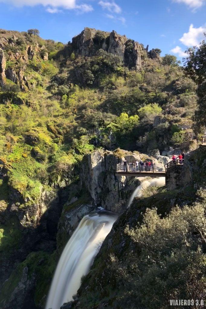 cascada Pozo de los Humos, Arribes del Duero