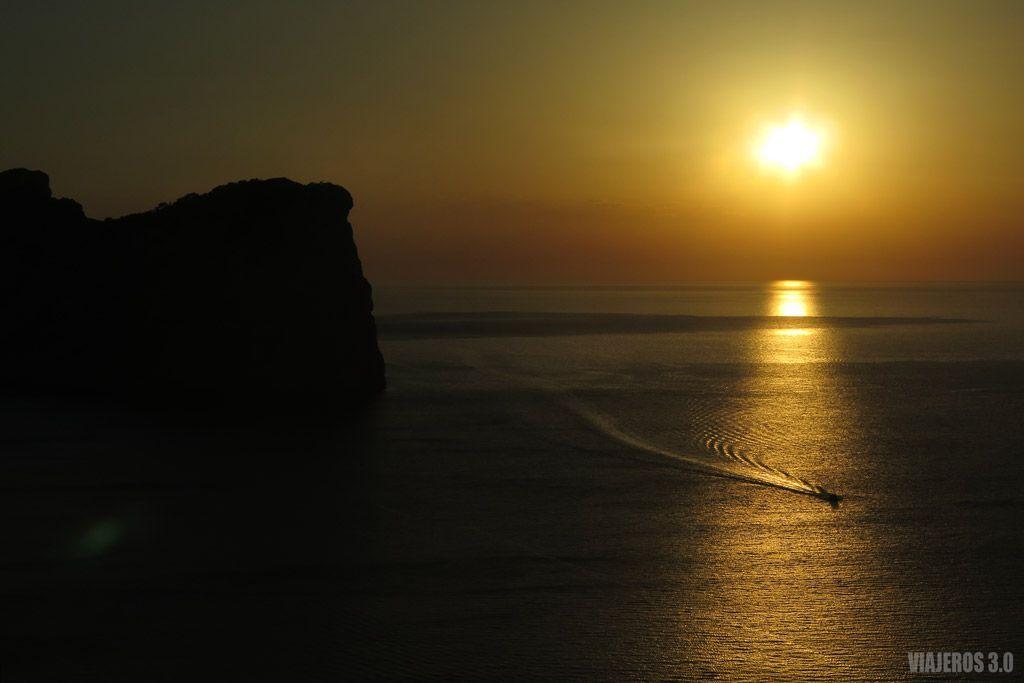 Faro de Formentor, donde ver el atardecer en Mallorca