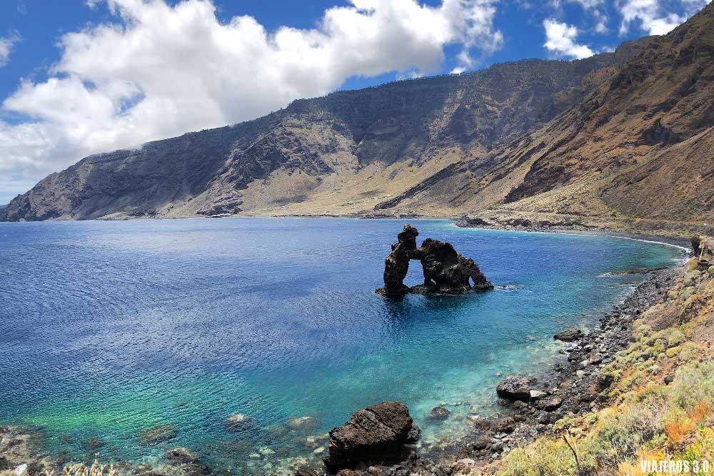 Las Playas en la isla de El Hierro (Islas Canarias)
