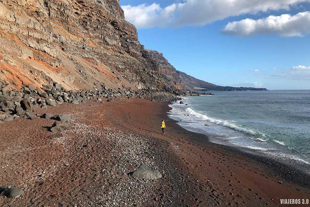 Playa el Verodal, que visitar en el Hierro