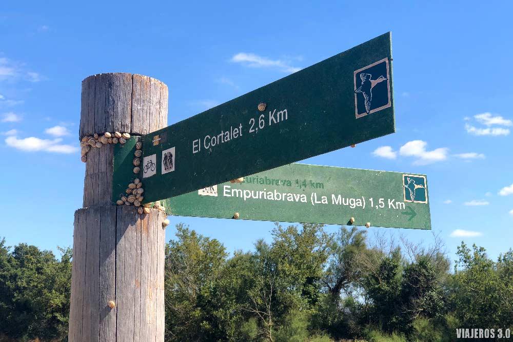 Itinerarios en el Parque Natural de Aiguamolls