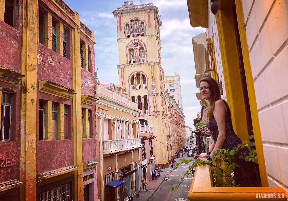 Casco Viejo de Cartagena de Indias, ruta por Colombia