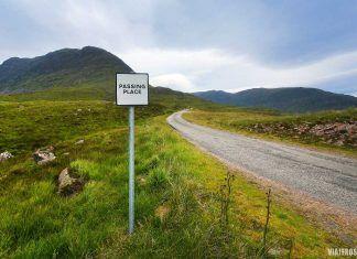 Roadtrip, conducir en Escocia por la izquierda