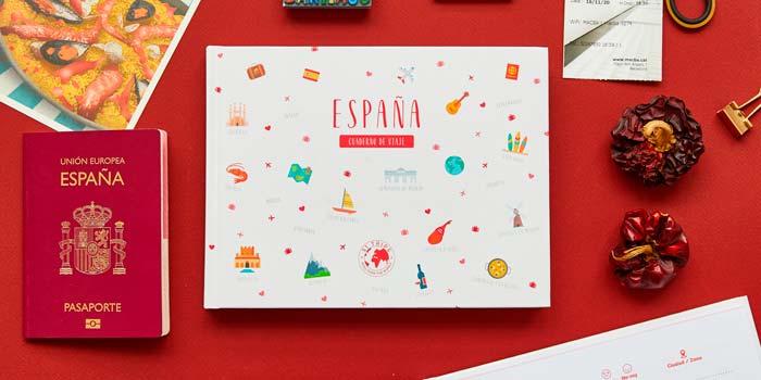 cuaderno de viaje España