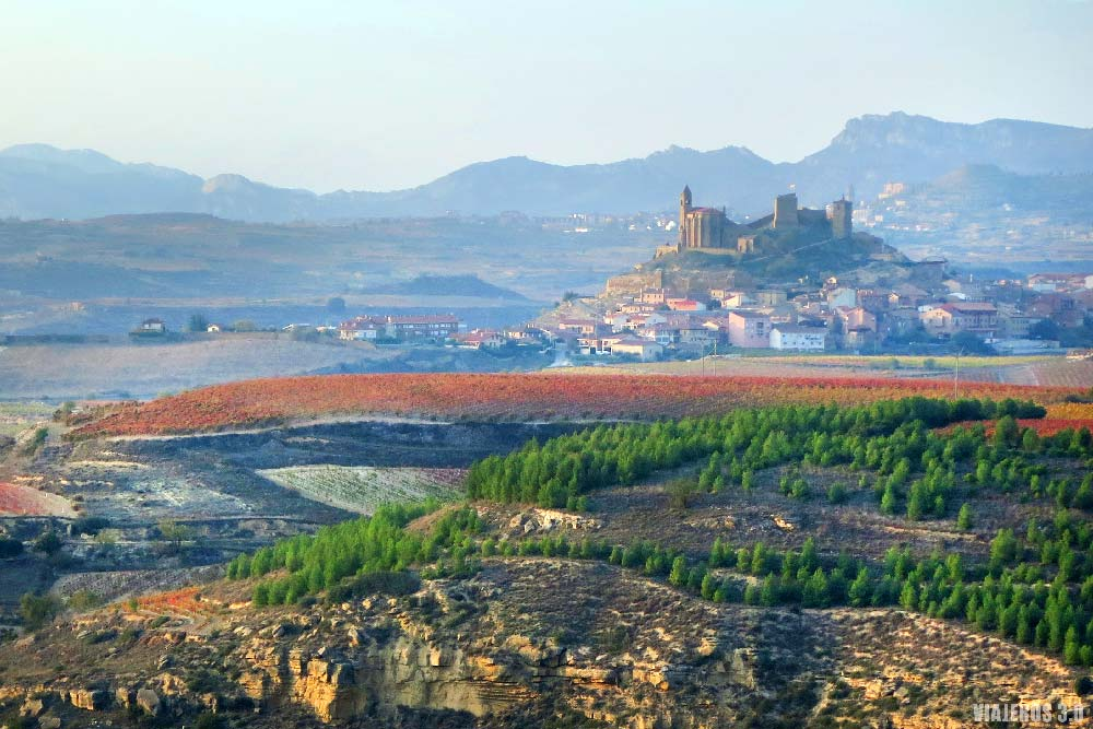 Castillo de Davalillo, otoño en los viñedos de La Rioja