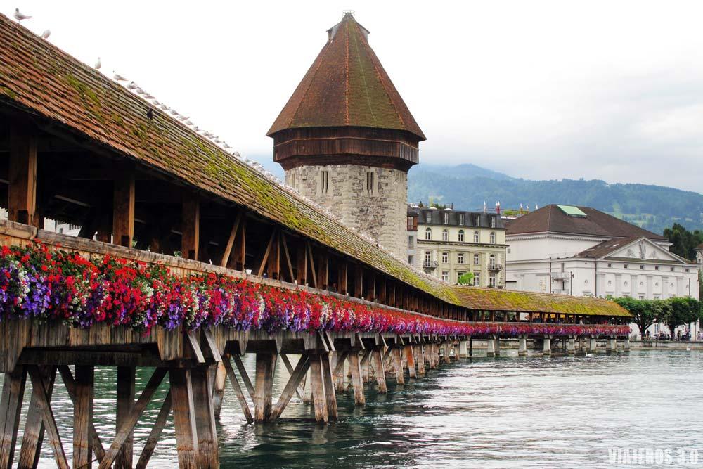 Lucerna, que visitar en Suiza en una semana