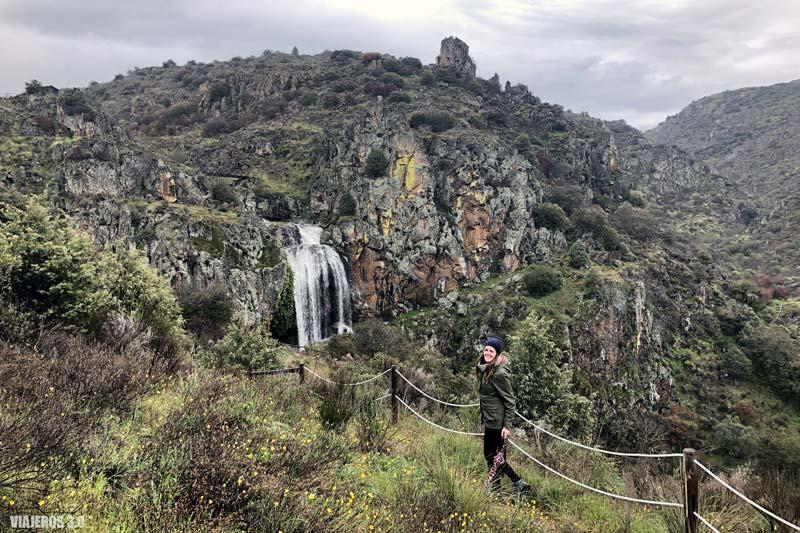 Cascada da Faia de Agua Alta en Portugal