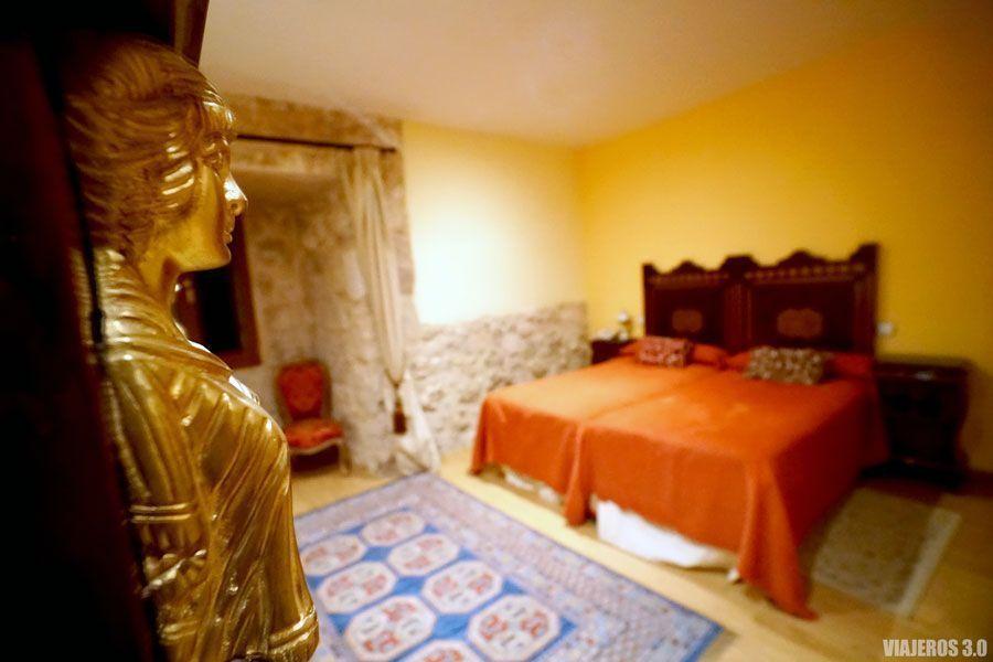 Dormir en una castillo en Valladolid, habitaciones del Castillo de Curiel