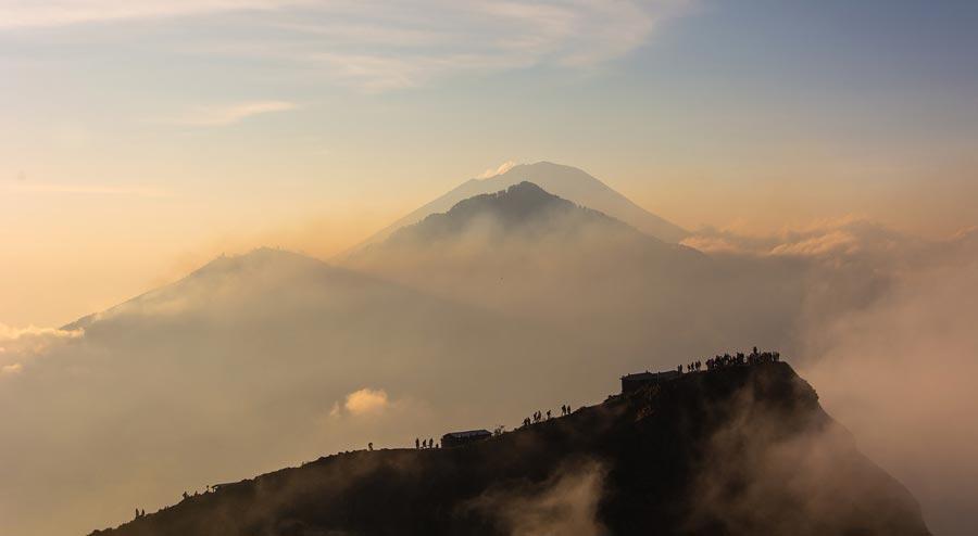 volcán Batur, qué ver en Bali en una semana