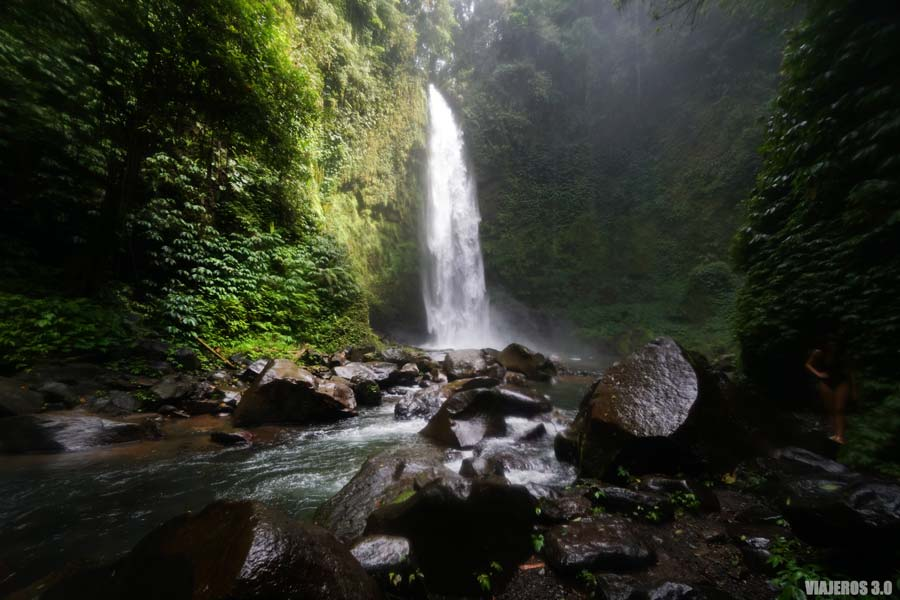 Cascada de NungNug, qué ver en Bali