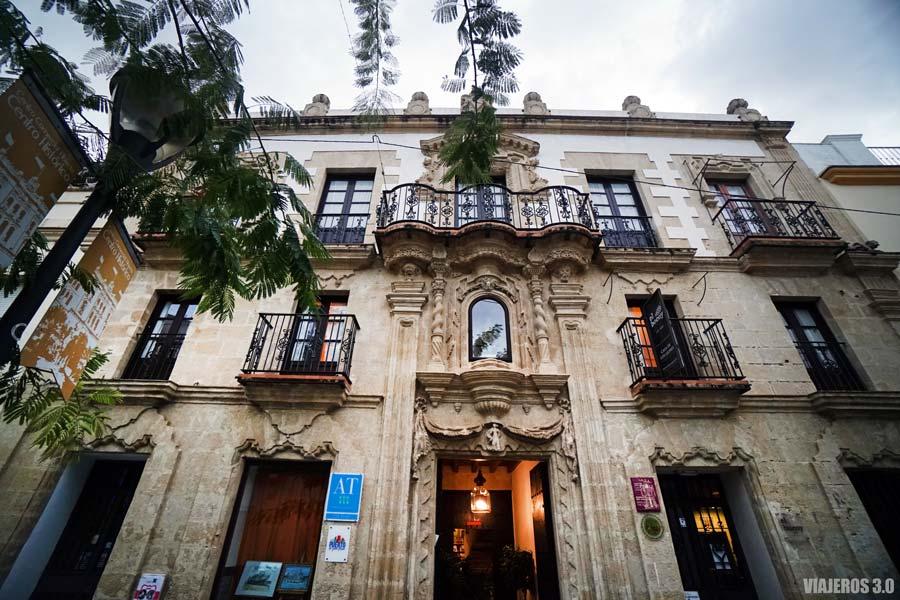 Casa de los Leones, patios de El Puerto de Santa María