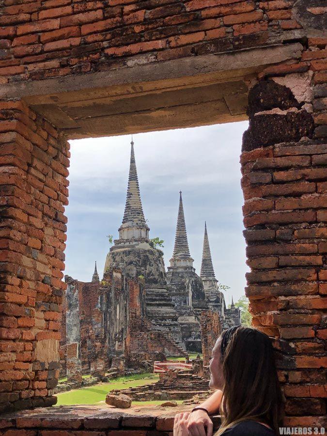 Templos de Ayutthaya, ruta por Tailandia en 15 días