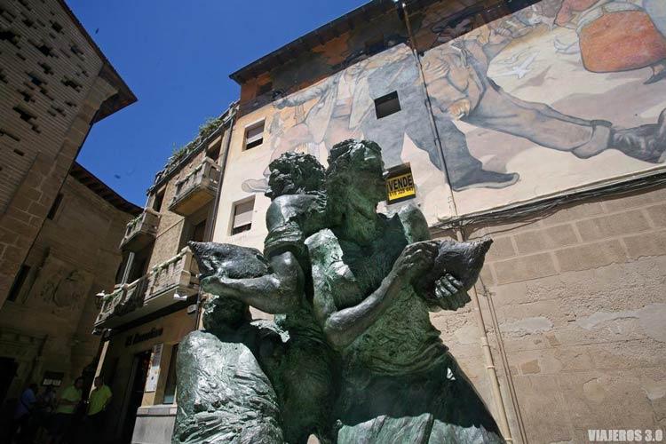 Estatuas de Bronce, cosas que ver en Haro en un fin de semana