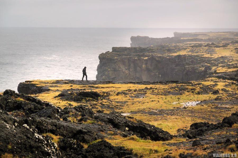 Faro de Svörtulof, que ver en la península de Snaefellsnes