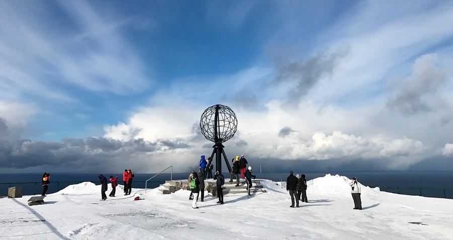 Cabo Norte, destinos de invierno en Noruega