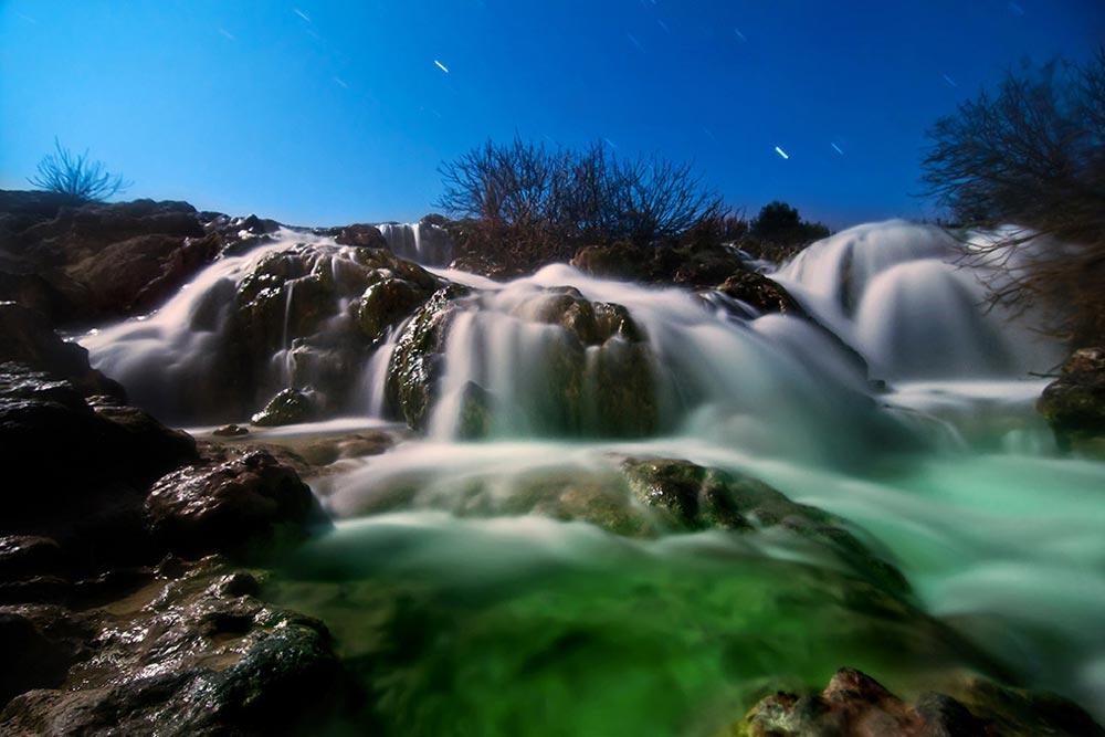 Cascadas en las Lagunas de Ruidera, Castilla-La Mancha
