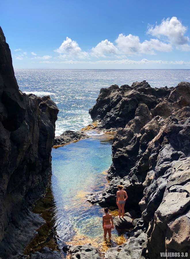 Charco de los Sargos, las mejores piscina y playas de El Hierro