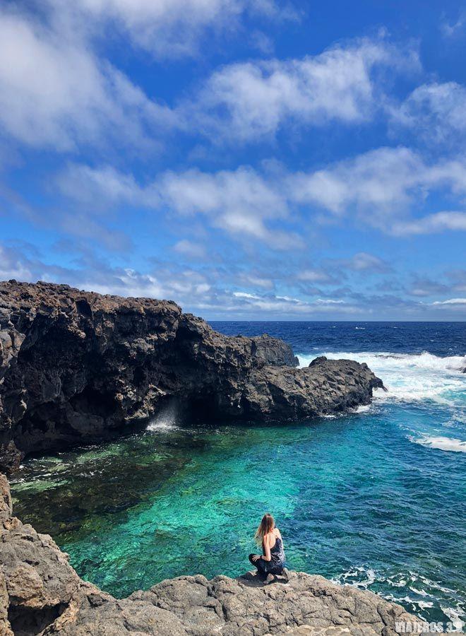 Charcos Manso, las mejores piscinas y playas de El Hierro.