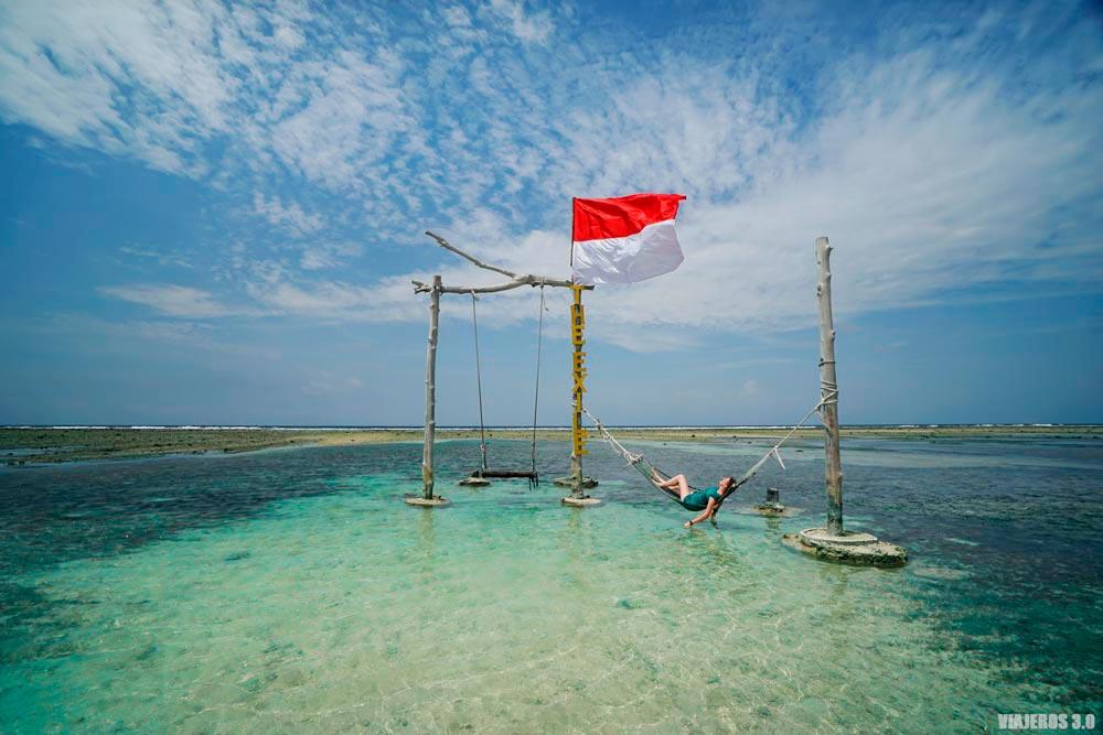 Columpios, que hacer en las islas Gili