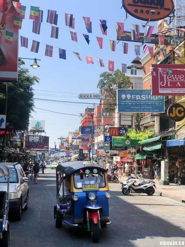 Khao San Road, qué hacer en Bangkok en 3 días