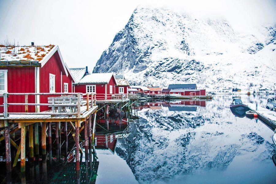 Islas lofoten, destinos para viajar a Noruega en invierno