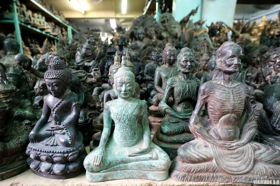 Mercado de los amuletos, planes que hacer en Bangkok en 3 días