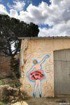 Street art en Tubilla del Lago en Burgos