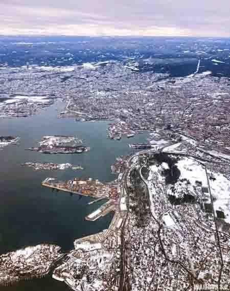 Oslo, destinos para viajar a Noruega en invierno