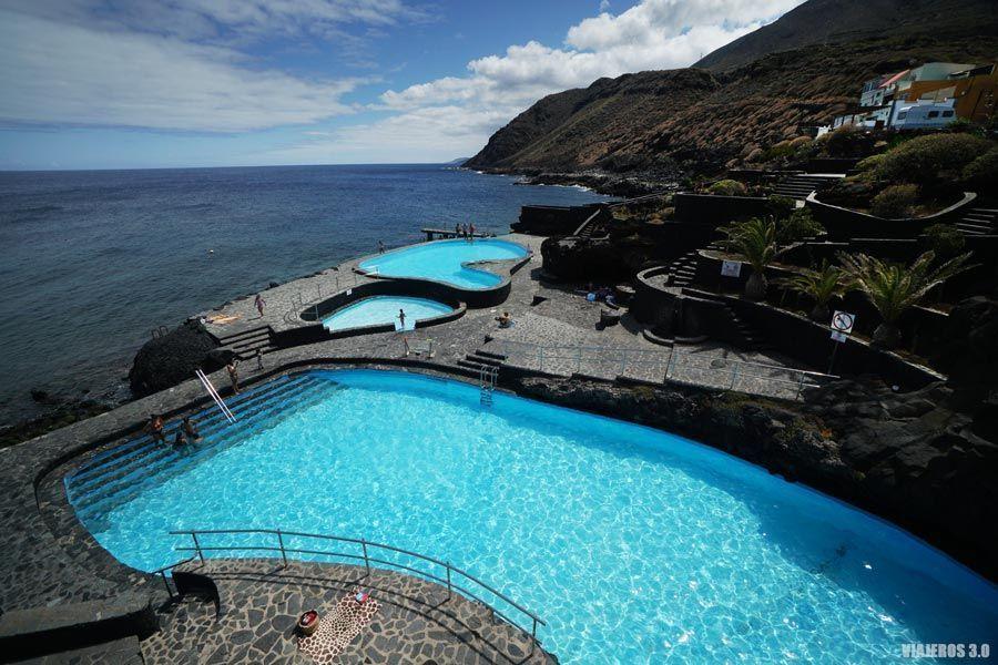 La Caleta, piscinas en el Hierro