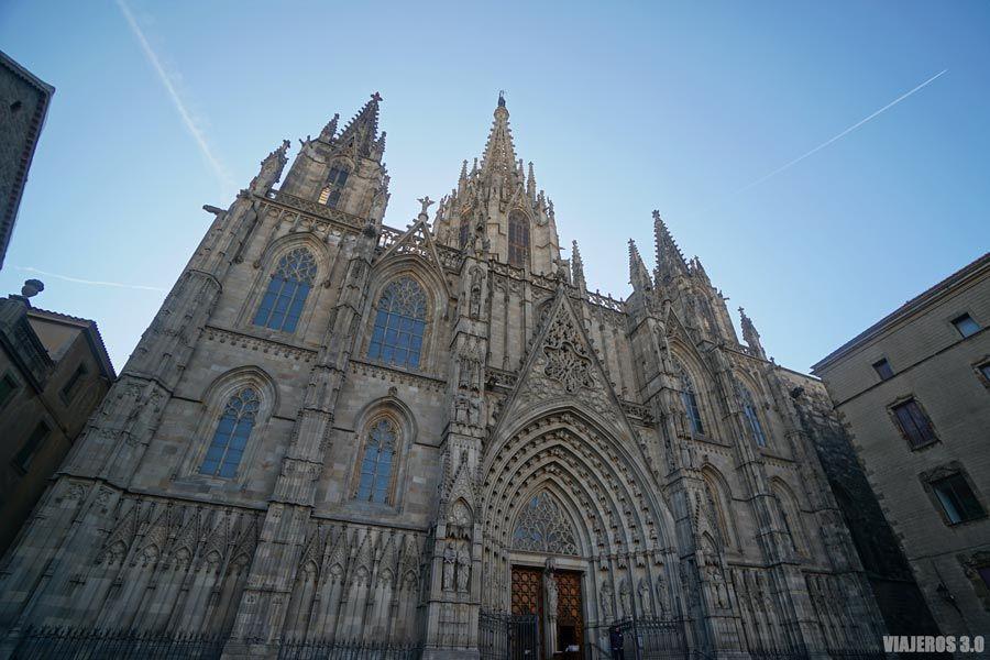 Catedral de Barcelona, los mejores miradores.