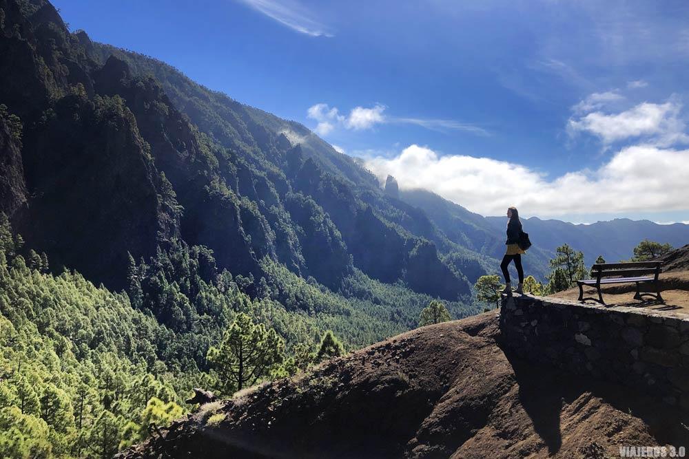 Mirador de la Cumbrecita, lugares que ver en La Palma, Islas Canarias.