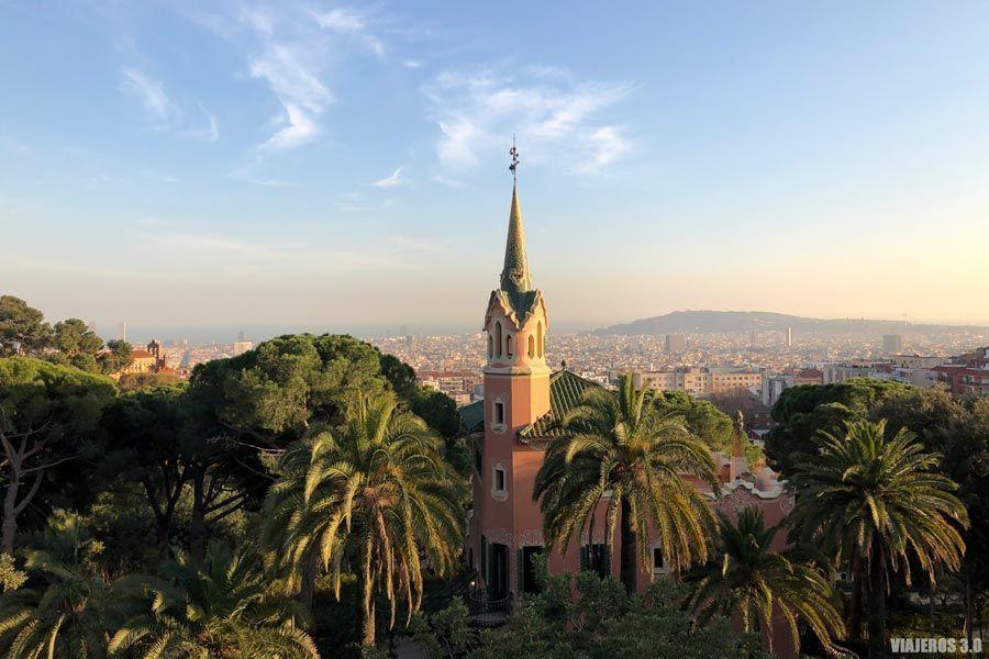 Parque Güell, ruta del modernismo de Barcelona